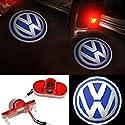 Inlink 2pcs Car Door Logo Projector Light Ghost Shadow Light for Volkswagen VW Golf 4;Touran;Caddy;Beetle;Bora