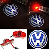 Inlink 2pcs Car Door Logo Projector Light Ghost Shadow Light for Volkswagen VW Golf 4;Touran;Caddy;Beetle;Bora