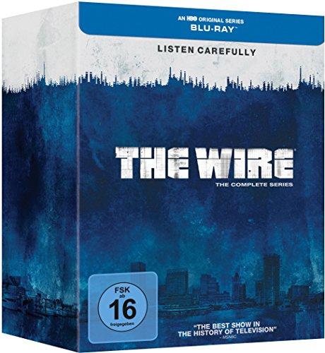 The Wire - Die komplette Serie (Staffel 1-5) (exklusiv bei Amazon.de) [Blu-ray] [Limited Edition] -