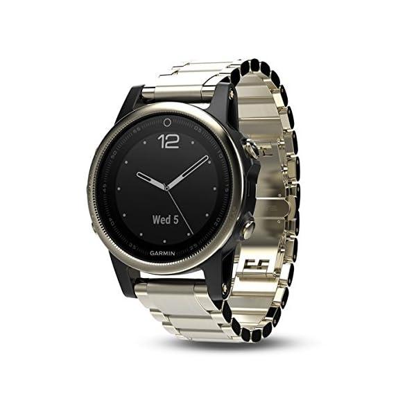 Garmin Fenix 5S Sapphire GPS Multisport Smartwatch 010 01685 15