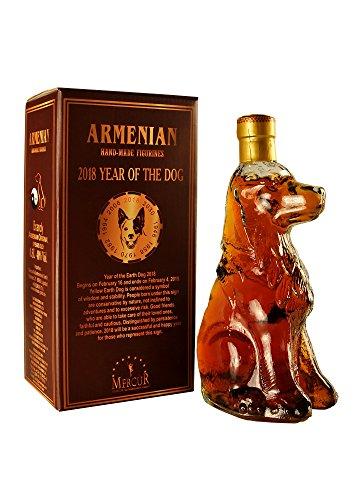 armenischer Weinbrand Hund, 5 Jahre gereift, 0,5L, 40% Alk
