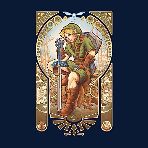 Zelda Link Hylian Spirit Women's Sweatshirt Navy blue