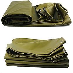 Yunyisujiao Bâche imperméable Durable de Toile de Tente Durable de Tissu de Protection Solaire imperméable de Protection multifonctionnelle, 550G / m2, épaisseur 0.45mm (Color : B, Size : 2m × 1.5m)