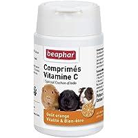 BEAPHAR – Comprimés de Vitamine C pour Cochon d'Inde – Goût Orange – Apporte vitalité et bien-être – Répond aux besoins…