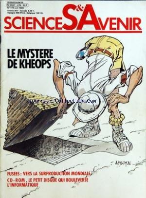 SCIENCES ET AVENIR [No 476] du 01/10/1986 - ARTICLES - EN COUVERTURE - L'INSONDABLE KHEOPS PAR CECILE LESTIENNE - PHYSIQUE - L'ENERGIE DU VIDE PAR STEPHANE DELIGEORGES - NUCLEAIRE - LE MEA-CULPA DE TCHERNOBYL PAR SERGE BERG - OPHTALMOLOGIE - LE CRISTALLIN A L'EPREUVE DU TEMPS PAR CATHERINE VINCENT - ESPACE - DES FUSEES PAR MILLIERS PAR ALBERT DUCROCQ - HISTOIRE DES SCIENCES - PASTEUR - NAISSANCE D'UNE FIGURE PAR PIERRE BARON - MEDICAMENTS - LA GUERRE DES HORMONES PAR PAUL CEUZIN - INFORMATIQUE par Collectif