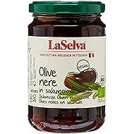 LaSelva Olives Noires en Saumure Bio 310 g