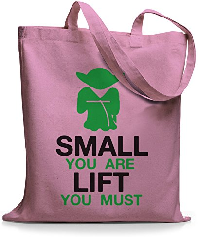 Stylobags Jutebeutel / Piccole Small You Are - Lift You Must Rosa