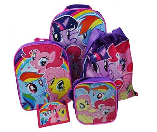 My Little Pony Gepäck-Set, 38cm, 8,5l, Pink (My Pony-koffer Little)