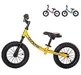 Banana Bike GT - Laufrad für Kinder - 2, 3, 4 und 5 Jahre alt (Metallisches Gelb)