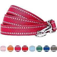 Umi. by Amazon - guinzaglio per cani catarifrangente e resistente, 150 x 1,5 cm, taglia S, colore pastello frutti di bosco