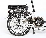Enik E-Bike Klapprad EASY 20, 20 Zoll, 3 Gang, Frontmotor, 317 Wh 50,8 cm (20 Zoll) - 5