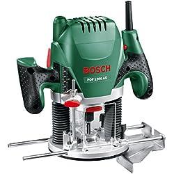 Bosch 060326A100 Défonceuse POF 1200 AE (1200 W, dans Carton) Vert