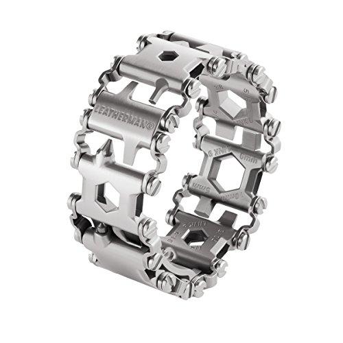 Leatherman TREAD metrisch silber Armband Multitool Edelstahl