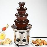 Bluelover 4 Niveaux Mini Acier Inoxydable Fondue Au Chocolat Fontaine Cascade Fusion Machine Appareil De Cuisine