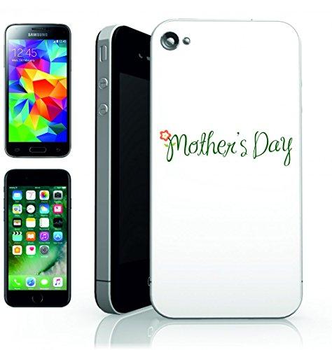 Smartphone Case FESTA DELLA MAMMA della Madre di Amore del fiore schriften Saluto di bambini di vacanza della Famiglia del Bambino di genitori di fiori della femmina per Apple Iphone 4/4S, 5/5S, 5C