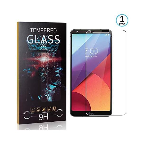 Ramcox Protector de Pantalla para LG G6, Alta Sensible Vidrio Templado Protector de Pantalla Compatible con 3D Touch… 1
