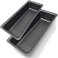 Made in Italy Gugelhupfform Grau Aluminium /Ø 24 cm Bundform Savarin Antihaftbeschichtung Menax