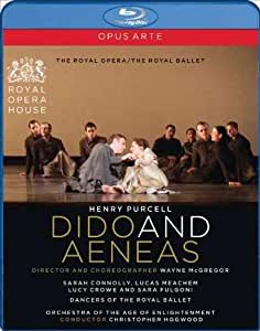 Dido & Aeneas, by Henry Purcell / Connolly, Meachem, Crowe, OAE, Hogwood, McGregor, Royal Opera & Ballet (ROH Covent Garden 2009) [Blu-ray] [2010] [Region Free]