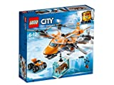 LEGO 60193 City Arctic Air Transport, Expedition Helicopter Toy, Explorer Quadrocopter, Winter Rescue Adventure Set