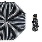 Ombrello 2 in 1, Ombrello da sole Anti-UV 5 tasche pieghevoli Ombrelli per uomo Donna