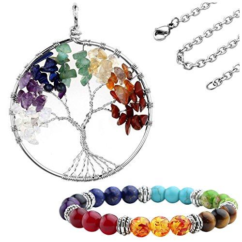 jovivi-gioielli-unisex-reiki-energia-terapia-7-chakra-pietra-braccialetto-collana-albero-della-vita-