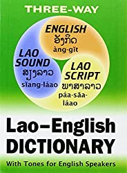 Lao-english English-lao Dictionary for English Speakers: Roman and Script - Complete With Lao Alphabet Guide