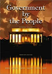 Government by the People, National Version, 20th Edition by James MacGregor Burns (2003-03-03)