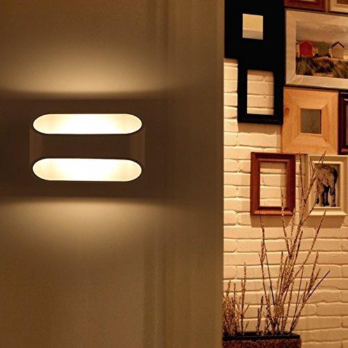 BLK-moderne schlichtheit, kreative persönlichkeit, wall lamp, schlafzimmer, flur lampe,41cm-10w warm white - Blk-lampen