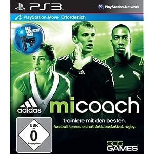 adidas miCoach (Move) – [PlayStation 3]