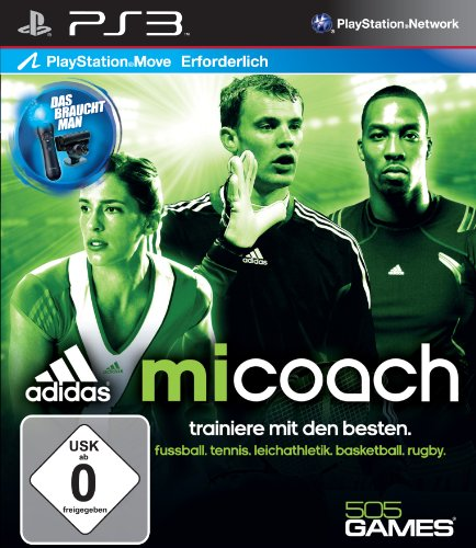 adidas miCoach (Move) - [PlayStation 3]
