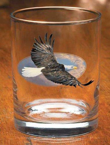 Bald Eagle Altmodisches Gläser 4Stück von Jon REN