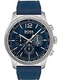 af99b7bd33bf Hugo Boss 1513526 - Reloj de Pulsera para Hombre (Correa de Silicona)