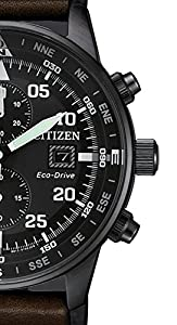 Citizen Reloj Hombre Cronógrafo of Collection Aviator Chrono ca0695 – 17E de Citizen