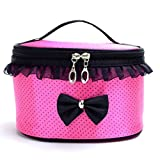 'Jacky Portable Travel Toiletry Makeup Bag Organizer Holder Handbag (hot Pink)