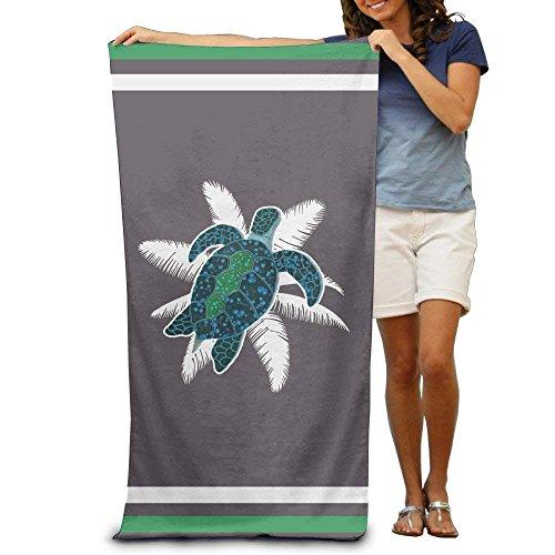 Pants New Aloha Turtle Surfing Surfboard Hawaiian Bath Towels Beach Towels Washcloths Adults Soft Absorbent - Aloha Pants