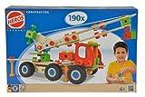 Eichhorn 100039039 - Constructor Kranwagen, 190-tlg., Holz-Konstruktions-Set, 4 verschiedene Modellvarianten baubar, FSC 100% Zertifiziertes Buchenholz, Made in Germany
