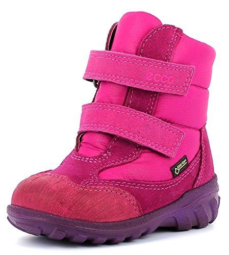 ecco-botas-para-nino-color-rojo-talla-24