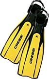 Cressi Pro Light - Aletas, color negro/amarillo, talla M-L