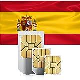 travSIM v-de-spanien-2000mb Spanien Daten Sim Karte mit 2GB (30 Tage, Standard/Mini/Micro/Nano)