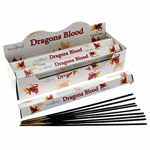 Stamford premium Bâtonnets d'encens Hex Plage - Sang Dragons 37123