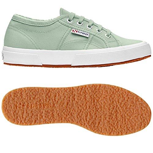 Schuhe Superga Sneakers Herren Damen Unisex 2750-plus Cotu Frühling Sommer Herbst Winter Mint