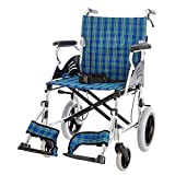 Shisky Lightweight folding aluminum alloy inflatable wheelchair, disabled, portable wheelchair