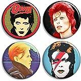 Chapa, Clip o Iman 38mm - David Bowie