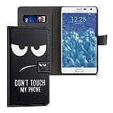 kwmobile Samsung Galaxy Note Edge Hülle - Kunstleder Wallet Case für Samsung Galaxy Note Edge mit Kartenfächern und Stand