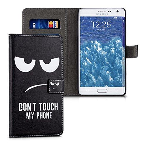 kwmobile Samsung Galaxy Note Edge Hülle - Kunstleder Wallet Case für Samsung Galaxy Note Edge mit Kartenfächern & Stand