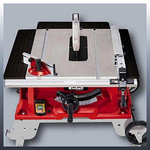 Einhell Tischkreissäge TE-TS 2025 UF (2000 W, Sägeblatt Ø250 x Ø30 mm, max. Schnitthöhe 78 mm, Tischgröße 645 x 455 mm) - 3
