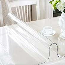 Nappe transparente de protection - Nappe transparente epaisse pour table verre ...