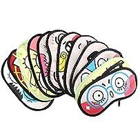 HugeStore 4 Stück Karikatur Augenmaske Schlafmaske Schlafbrille Maske Mask Augenbinde preisvergleich bei billige-tabletten.eu