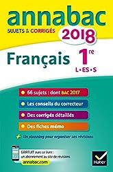 Annales Annabac 2018 français