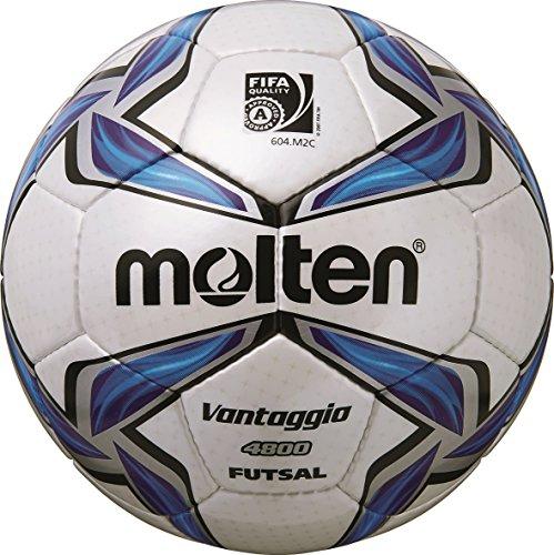 molten Futsal, Weiß/Blau/Silber, 4, F9V4800 Image